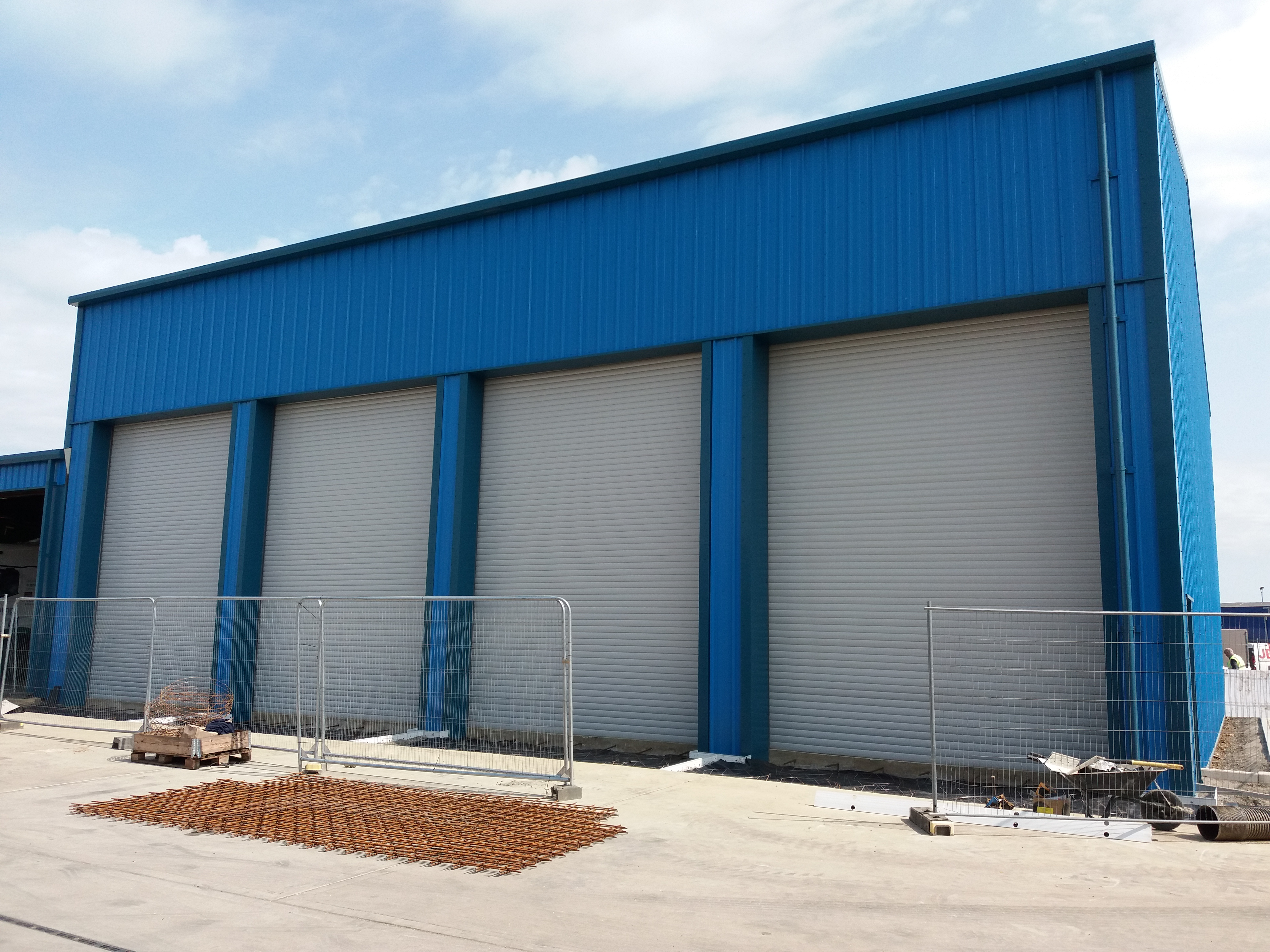 New service & repair facility nearing completion