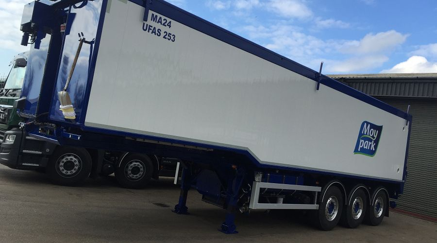 Impressive Moy Park trailers hit the road